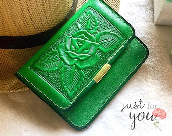 Women's Wallets - Vintage Style Small Purse - Travel Wallet - Gift for her