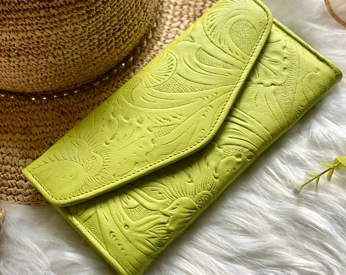 Authentic leather woman wallet - leather wallets  - Gifts for her - Wallet woman leather