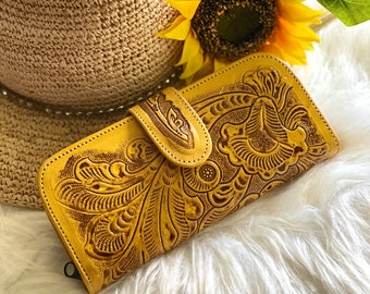 Handcrafted Authentic Leather wallets for women - handmade wallet - woman wallet - gifts for her - handmade gifts