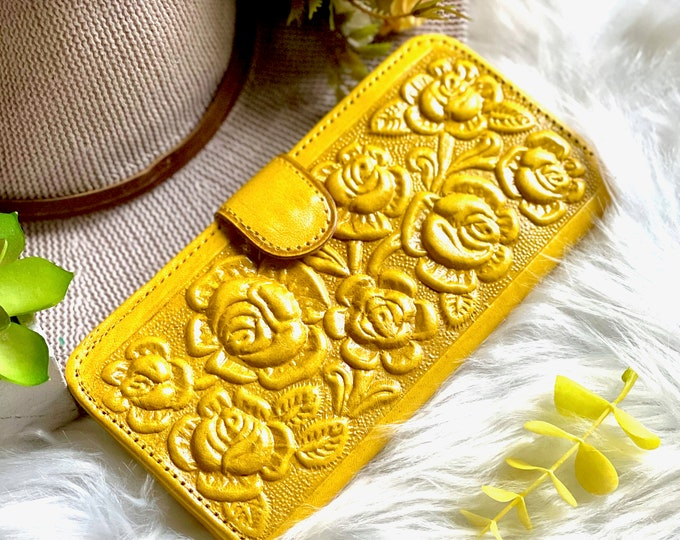 Personalized leather women wallets*wallets for women*Gifts for her