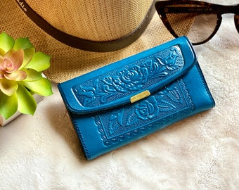 Small woman wallet- Christmas Gift for Woman- Leather gift- Small leather wallet- Leather Women's wallet-gift for her