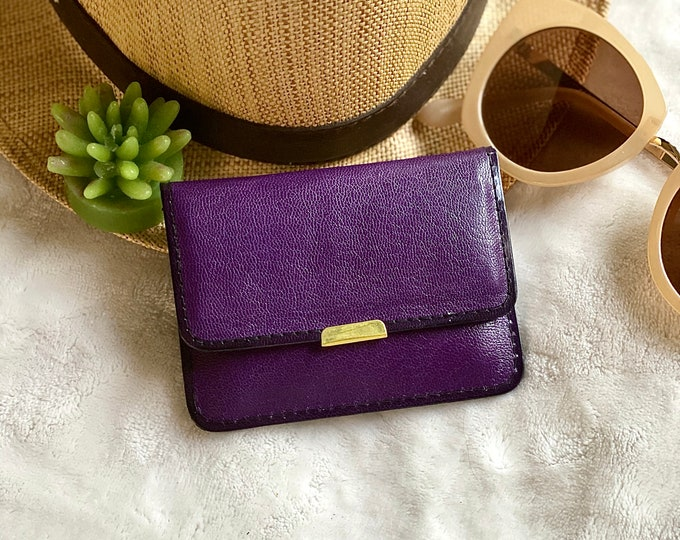 Small Wallet- Women's Wallets- Leather woman wallet - Christmas Gift woman