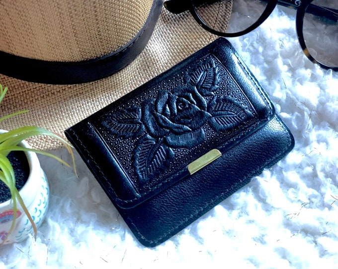 Small wallet woman - Gift for woman - leather wallets for woman- small wallets for women