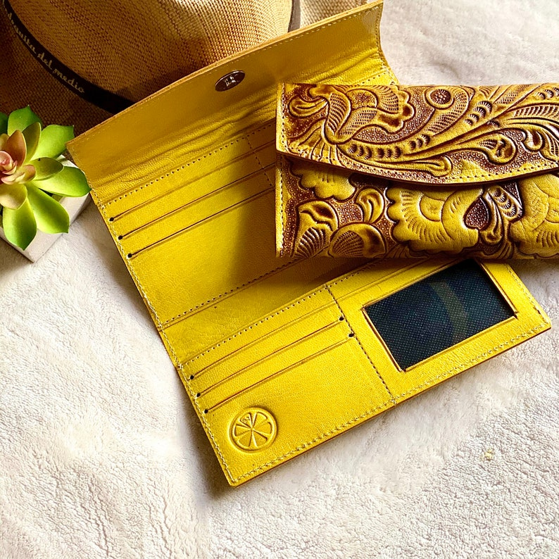 Women/'s wallets Handmade leather woman wallets gifts for her