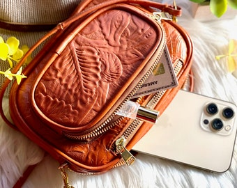Super cute leather small bags for women • cellphone bag • small handbag • gifts for her