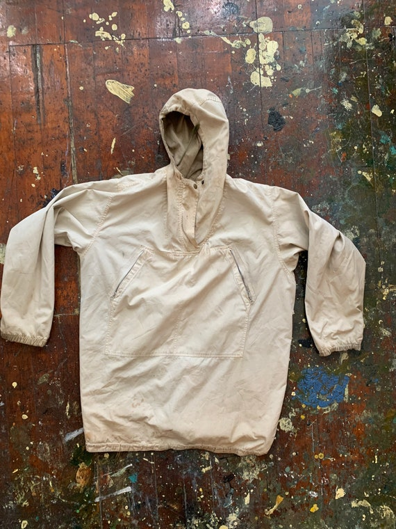 Reversible WW2 anorak jacket