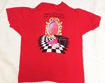 Stevie nicks tour T-shirt back to the other side of the mirror