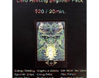 Card Healing Beginner Pack - 20min.