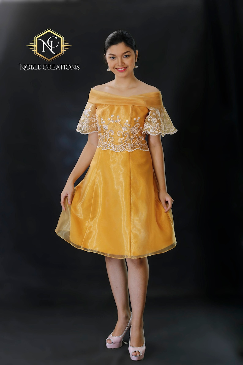 660733e6aa Sale FILIPINIANA Dress BARONG TAGALOG Philippine National