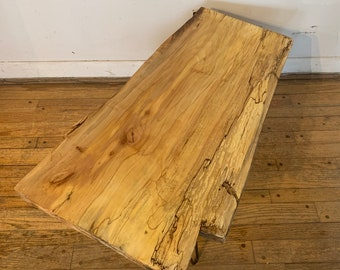 Spalting maple coffee table