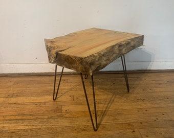 Manitoba maple coffee table