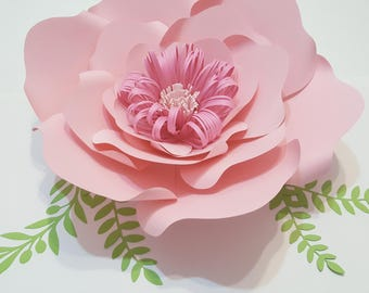 Paper Flower Template PDF Digital Version