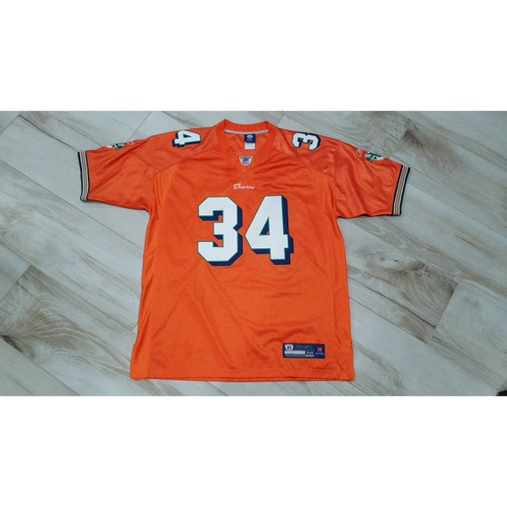 vtg Mens Miami Dolphins Ricky Williams Stitched NF