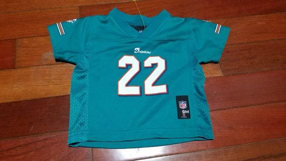 Vintage infant Miami Dolphins reggie Bush throwback NFL  b15f12a67