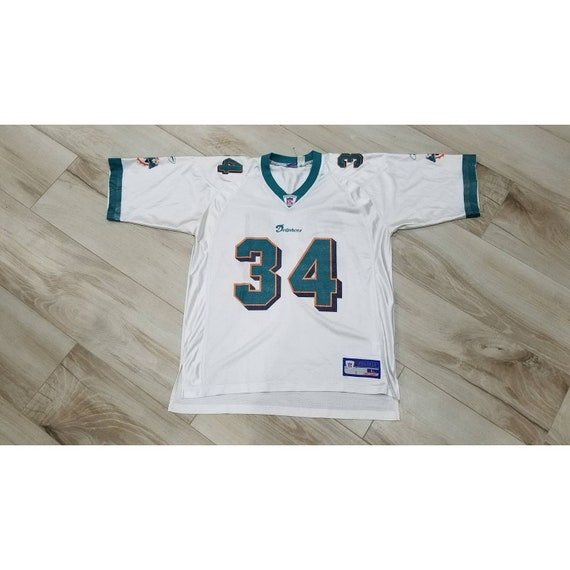 vtg Mens Miami Dolphins Ricky Williams NFL footbal