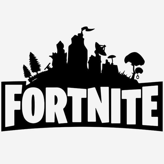 Fortnite Svg Datei Fortnite Cricut Fortnite Tshirt Fortnite Etsy