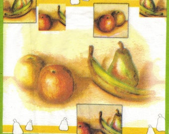 AUTUMN FRUITS 129 1 towel paper 33 X 33 X 4 design