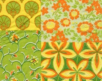 1 paper napkin flower DECO 656