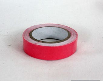 Washi tape 10 mm cotton candy pink