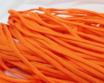 5 Metters orange Paracord - survival bracelet