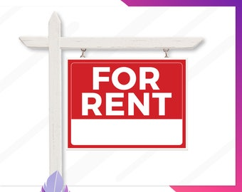 for rent yard sign printable for rent signs real estate for rent signs custom for rent sign realtors for rent yard sign multiple sizes
