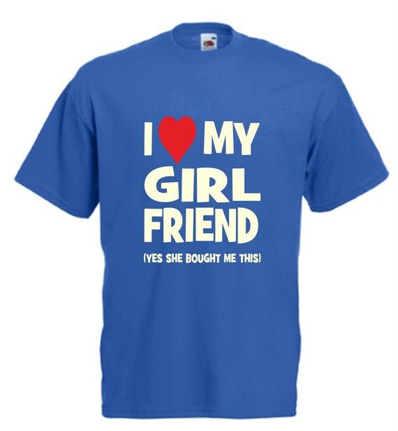 Your Girlfriend VS My Girlfriend Funny Novelty T-Shirt Men/'s Short Sleeve Tee