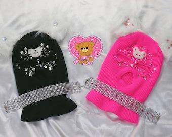 Pink Bear Balaclavas Gang | harajuku fashion y2k