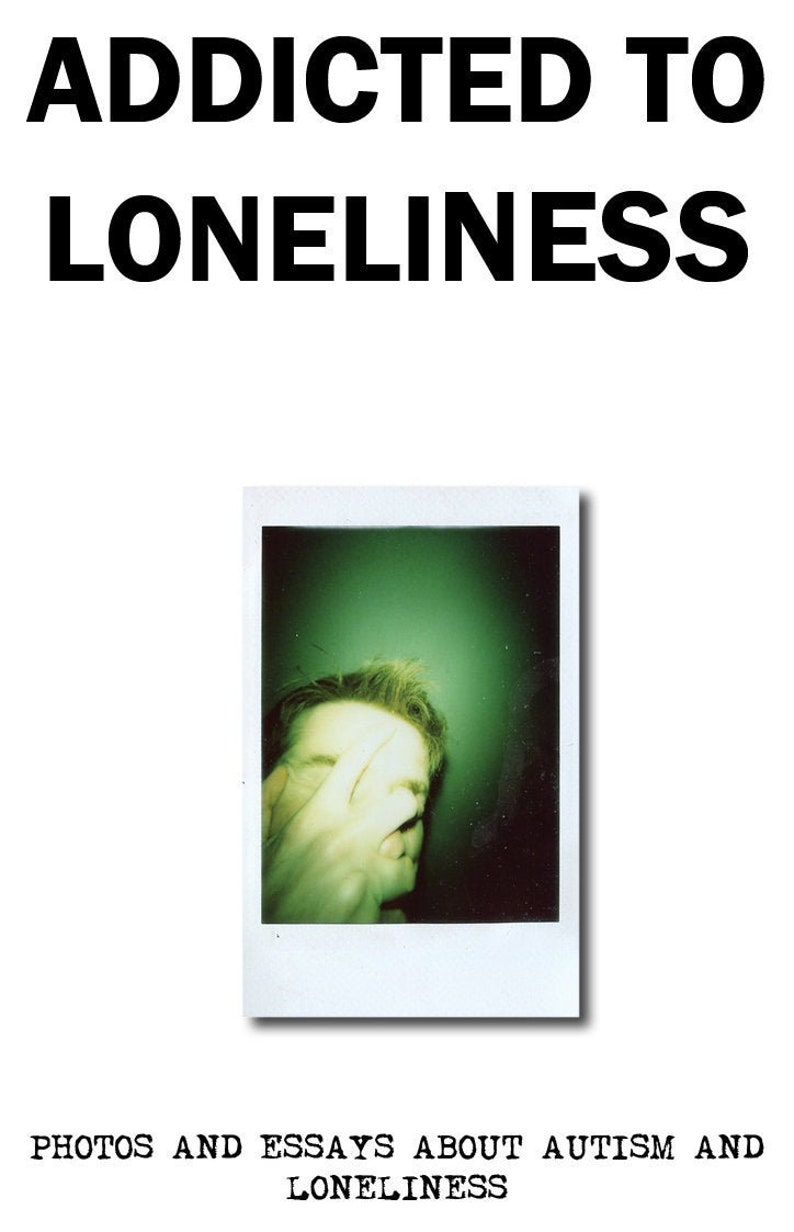 Addicted To Loneliness Mental Health Polaroid Photography and image 0