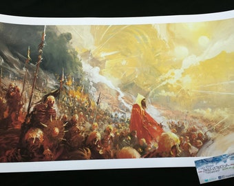 Invasion! by Zhillustrator, giclee and canvas print, A3 laser available too!