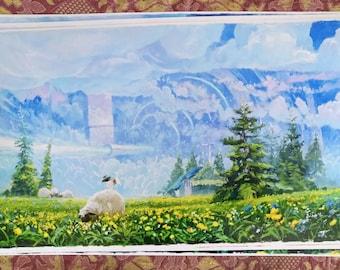 Shepherd's Gate, Luster prints by Zhillustrator