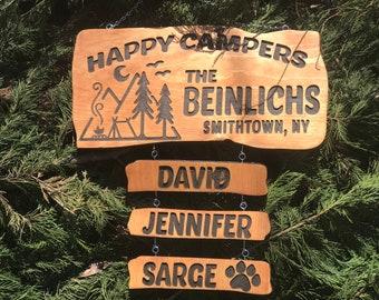 Camping Signs Etsy