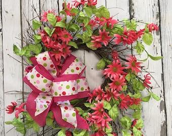Strawberry Twig Wreath