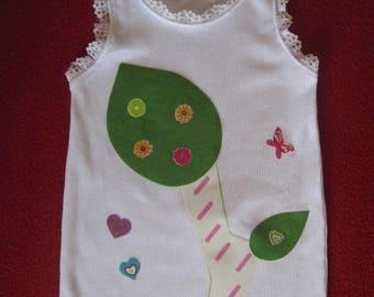 Tank girl patterns floral 4t