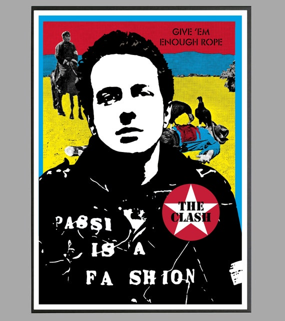 The Clash Inspired London Calling Wood Vintage Street Sign Joe Strummer