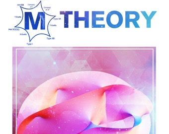 M theory-Minimalist concept Poster