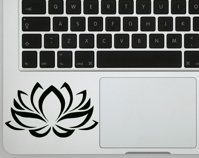 Lotus Flower Sticker Decal for Laptops, Wall Decor or Bumper Sticker