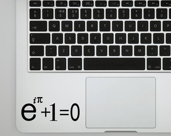Eulers Equation decal for wall computer or bumper sticker