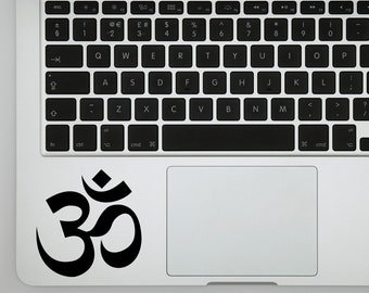 Om Meditation Sticker Decal for Laptops, Wall Decor or Bumper Sticker