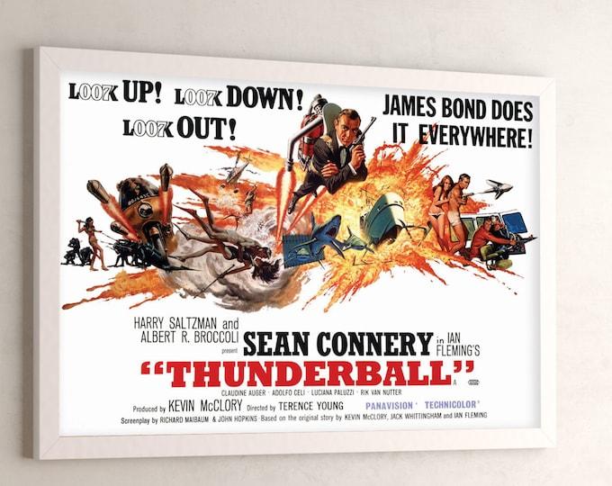 Thunderball - James Bond Movie Poster (2000)