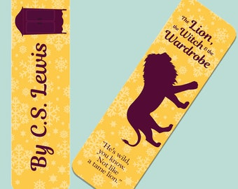 The Lion, the Witch, & the Wardrobe by C.S. Lewis Bookmark
