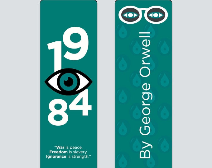 George Orwell's 1984 Bookmark