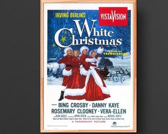 White Christmas (1954) Vintage Movie Poster
