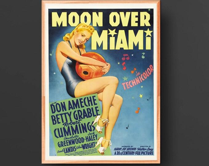 Moon Over Miami Movie Poster (1941)