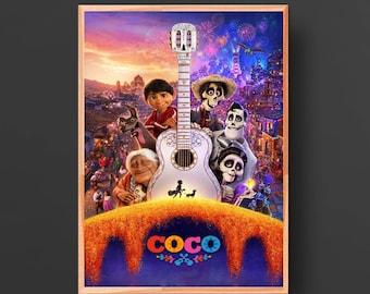"Coco Disney Chinese Animated Movie Poster Silk Print 13x20/"" 20x30/"" 24x36/"""