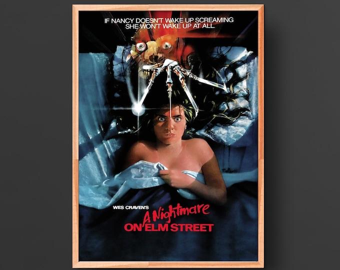 Featured listing image: Nightmare on Elm Street Movie Poster (1984)