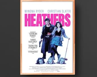 Heathers Movie Poster (1988)