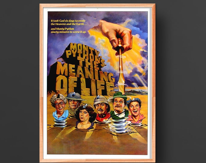 Monty Python's The Meaning of Life (1983) Movie Poster