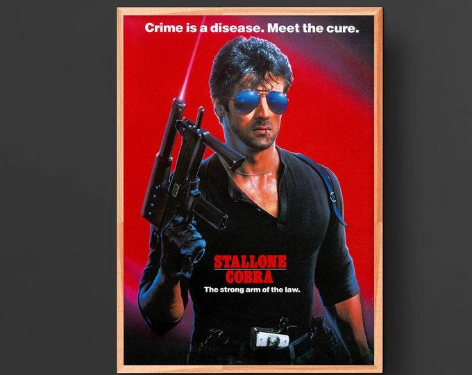 Cobra Movie Poster (1986)