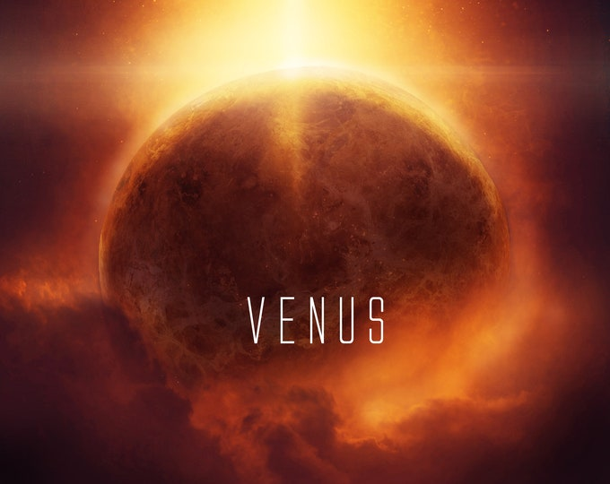 Planet Venus Wall  decor poster