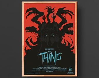 John Carpenter's the Thing Movie Poster (1982)